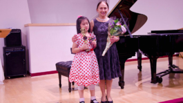 Julie Wu With Richmond Music Festival Trophy